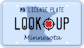 Minnesota license plate search