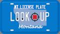 Montana license plate lookup