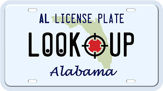 Alabama license plate search