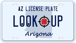 Arizona license plate search