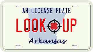 Arkansas license plate search