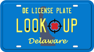Delaware license plate search