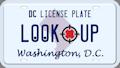 Washington DC license plate search