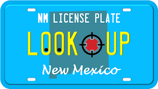 New Mexico License Plate Search