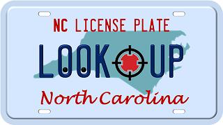 North Carolina license plate search