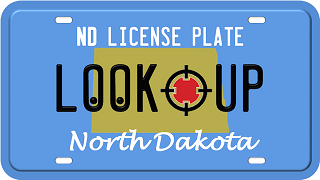 North Dakota license plate search