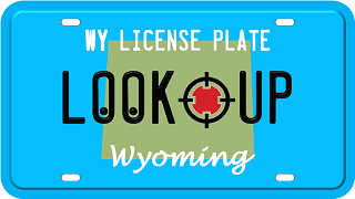 Wyoming license plate search