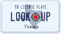 Texas license plate search