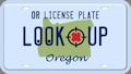 Oregon license plate search