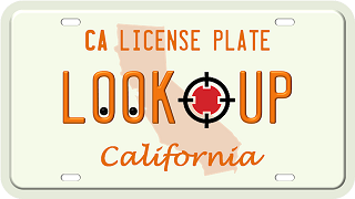 California license plate search