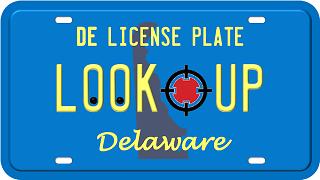 Delaware license plate search