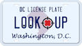 Washington DC license plate search