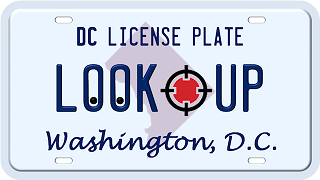 DC license plate search