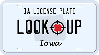 Iowa license plate search