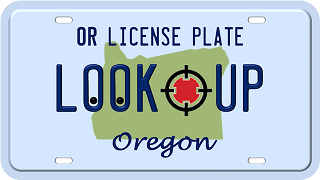 Oregon license plate search