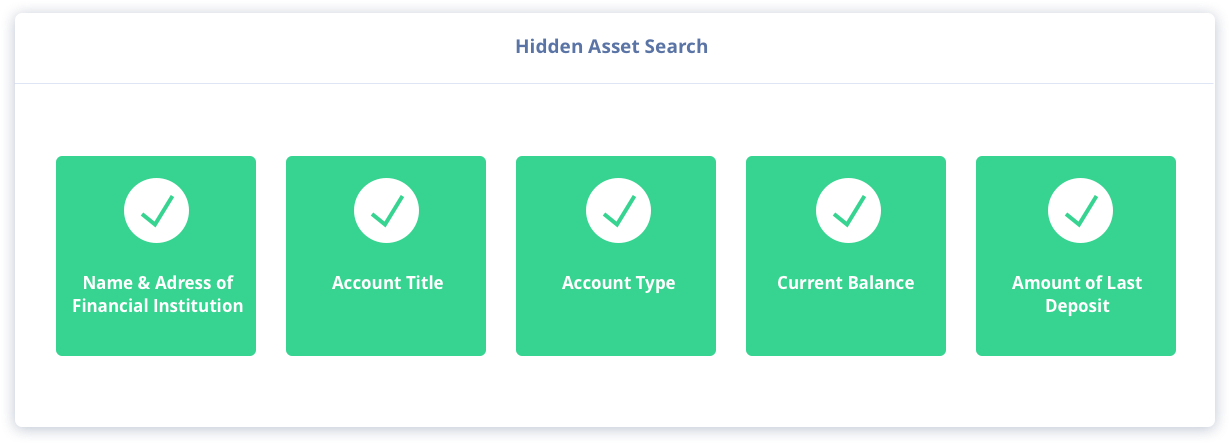 How To Find Someones Bank Account - Docusearch.com